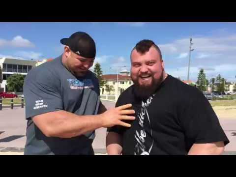 Eddie Hall talks about his realistic chances at World's Strongest Man 2015