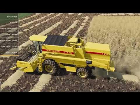 حصد-وزرع-القمح- -farming-simulator-19