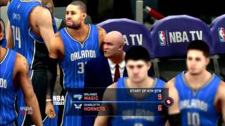 NBA 2K16 Orlando Magic Vs Charlotte Hornets PS3 HD