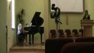 The Old Rugged Cross - piano and violin