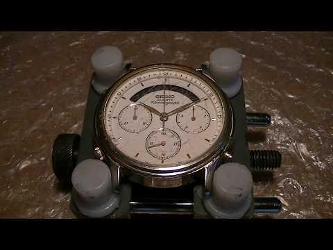 Seiko Quartz Chronograph 7A34-7000 complete service - PART 1