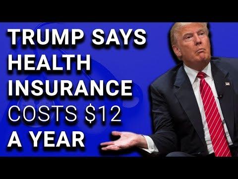 Trump Confused Between Health Insurance & Life Insurance