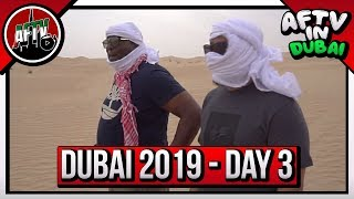 Gooners In The Desert | AFTV In Dubai Vlog 3 ft Robbie, Troopz & DT