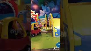Traffic Town With Car Toys And Other Soft Play Items Inside Soft Playground