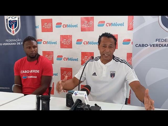Bubista e Marco Soares com declarações depois do jogo Cabo Verde 1-0 Libéria