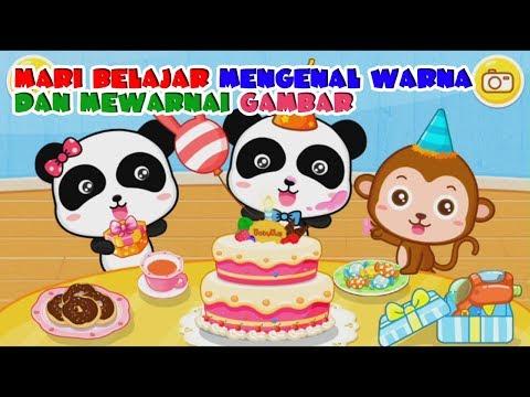 Mewarnai Selamat Ulang Tahun Download Gambar Online