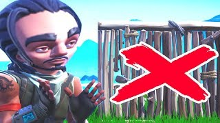 can you win without walls in fortnite... (HARD)