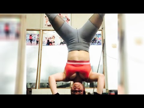 how to do headstand yoga pose  youtube