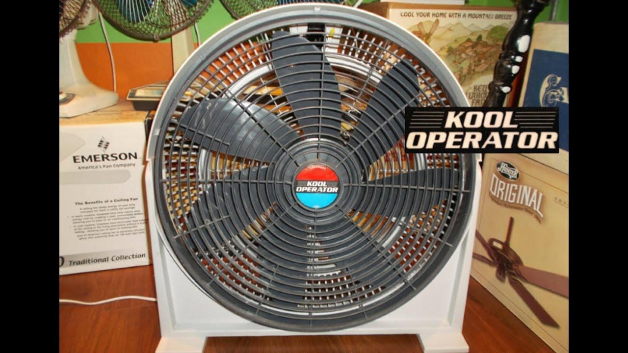 Lakewood Kool Operator Fan Youtube