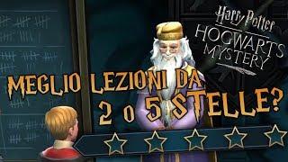 HOGWARTS MYSTERY - MEGLIO LEZIONI DA 2 o 5 STELLE?!