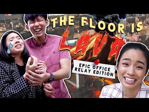 TSL Plays: Epic Office Relay (THE FLOOR IS LAVA)