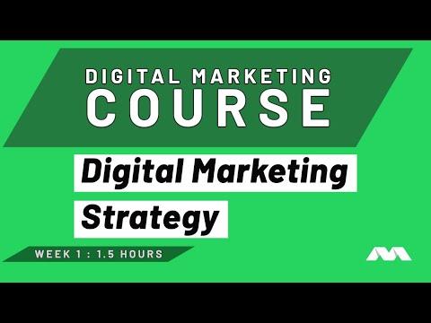Digital Marketing Course Part 1 - Digital Marketing Strategy