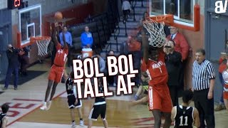 Bol Bol Accidently Throws Self-Oop! Mater Dei Handles RIVAL GAME VS Servite with EASE