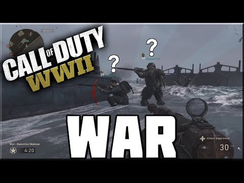 WHAT ARE YOU DOING!? - CALL OF DUTY WWII WAR