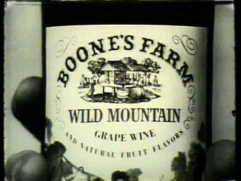 K Tel Quot Boones Farm Wild Mountain Grape Wine Quot Commercial