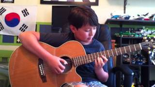 Canon in D by Johann Pachelbel - Fingestyle acoustic guitar - Andrew Foy - tabs