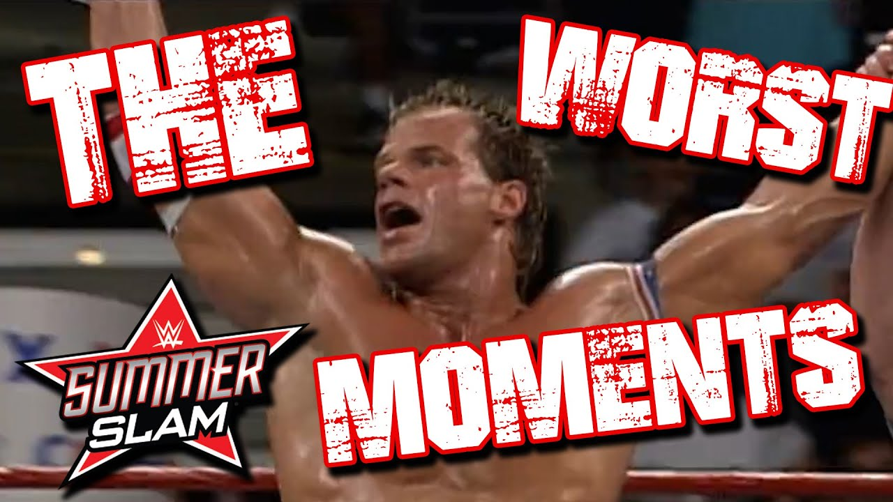 Top 8 Worst Summerslam Moments | Wrestling With Wregret