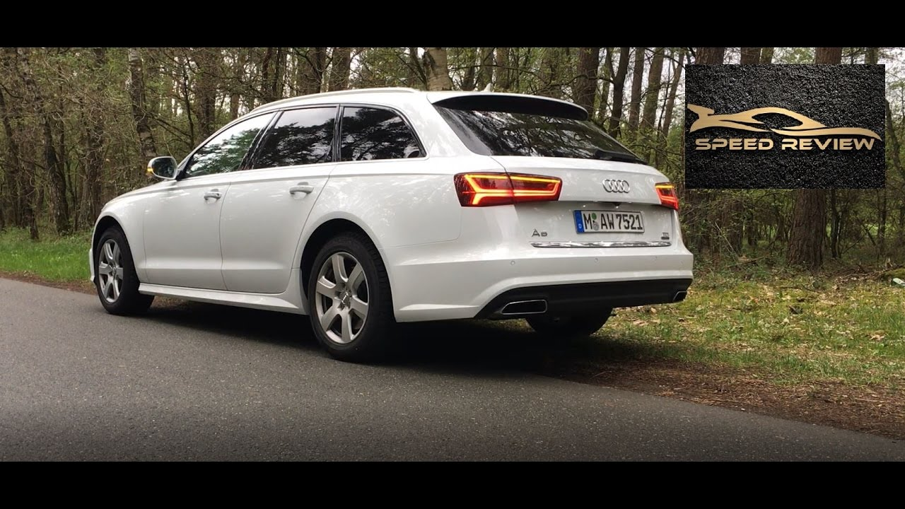audi a6 avant 3 0 tdi quattro 2017 detailed review start up sound and drive youtube. Black Bedroom Furniture Sets. Home Design Ideas