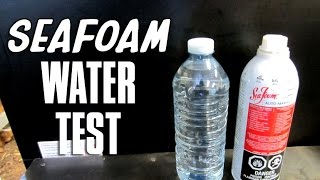 Does Seafoam Control Water In Your Fuel?