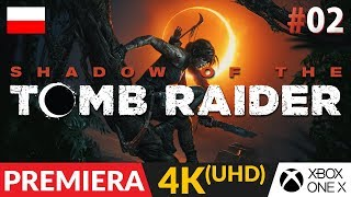 Shadow of the TOMB RAIDER PL (2018)  #2 (odc.2)  Czyli kto jest zły? | Gameplay po polsku w 4K