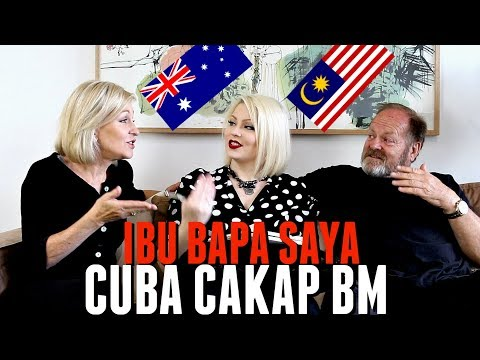 MY PARENTS CUBA CAKAP BAHASA MELAYU - #CassidyBoleh