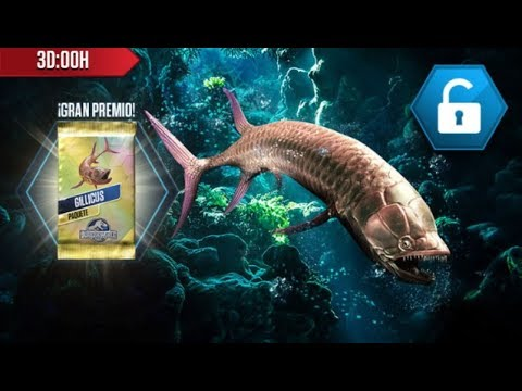 Jurassic World: The Game - Gillicus Tournament Battles 25 to 28