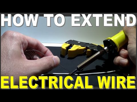 How to Extend Electrical Wiring then joining it