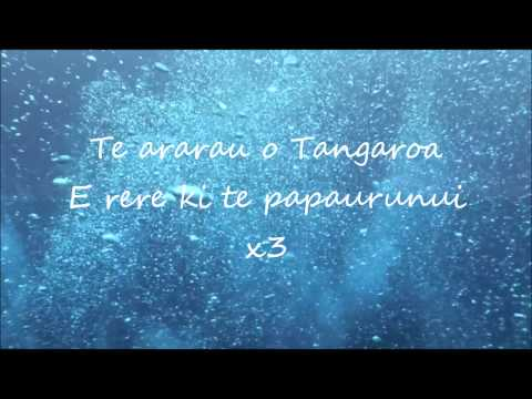 Maisey Rika - Tangaroa Whakamautai (Lyrics)