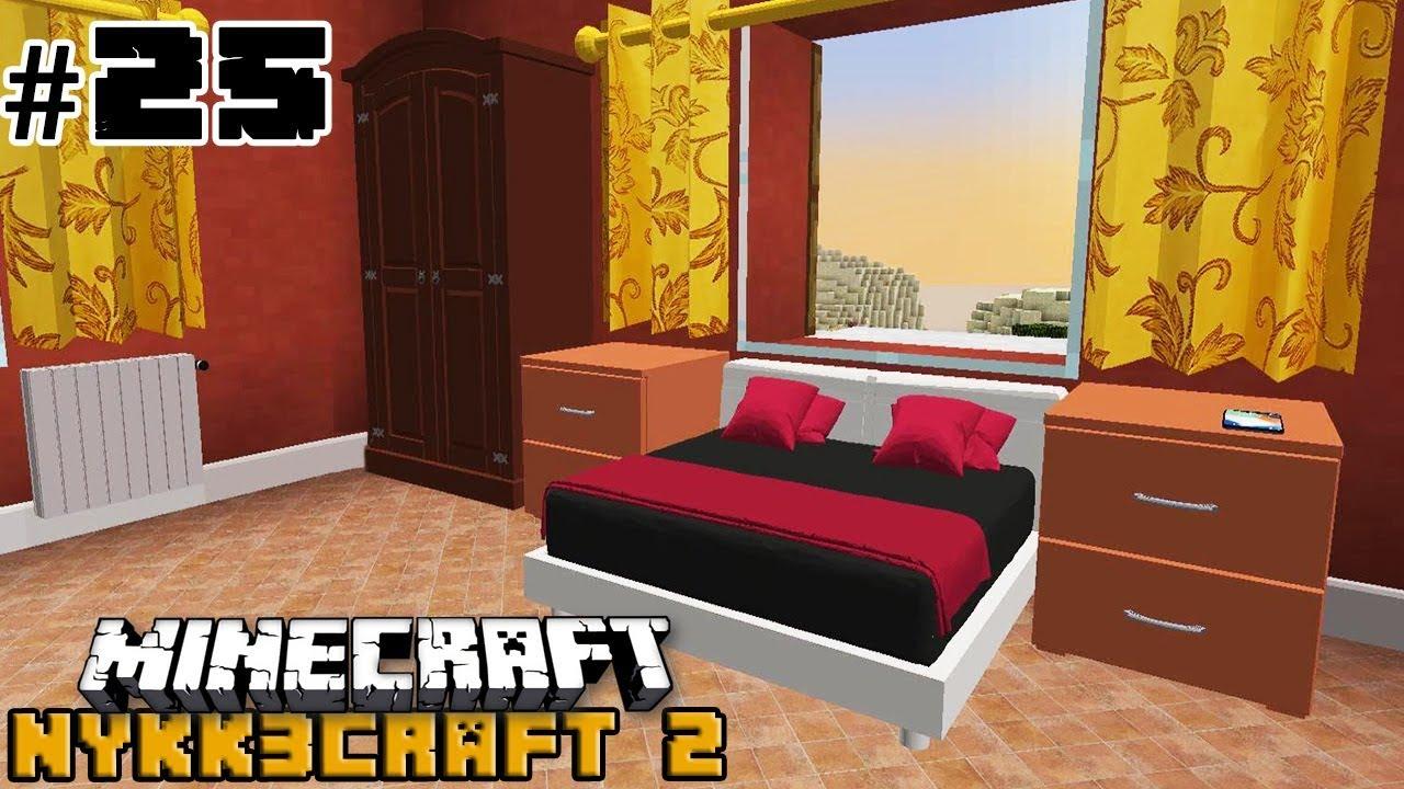 Camera Da Letto Minecraft stanza da letto moderna #25 - minecraft ita nykk3craft s2 mod