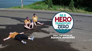 Be a Hero Transport Zero - Drain All Water