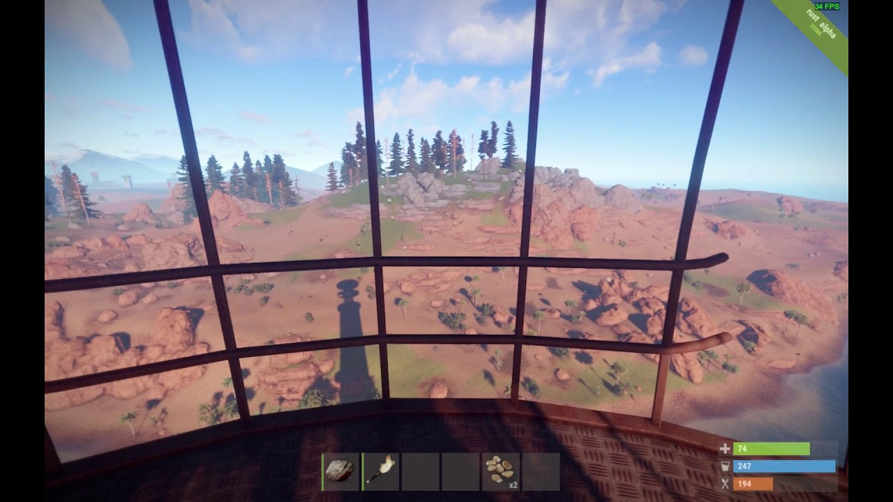 Rust: Lighthouse screen tearing by the book! (900p)