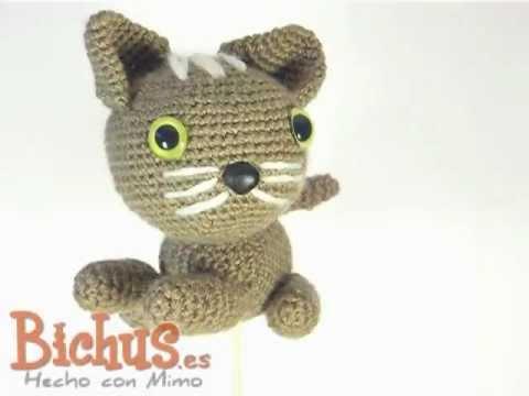 Amigurumis Gatos Patrones Gratis : Bichus amigurumis magnus el gato vista d youtube