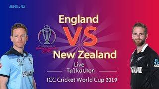 England vs New Zealand #ENGvNZ - LIVE Talkathon - DD Sports-ICC Cricket World Cup 2019
