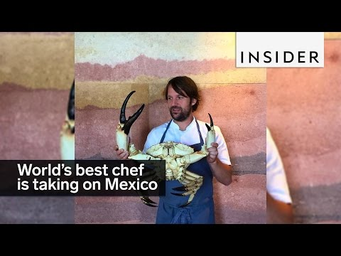 The world's best chef is taking on Mexico