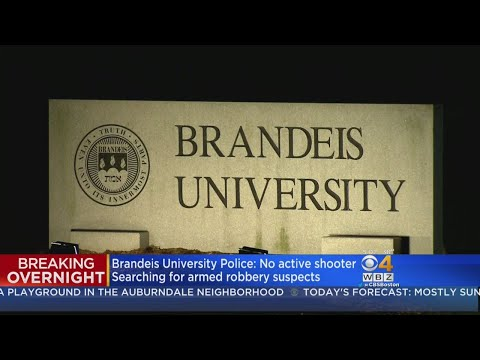 Brandeis University Locked Down After Armed Robbery