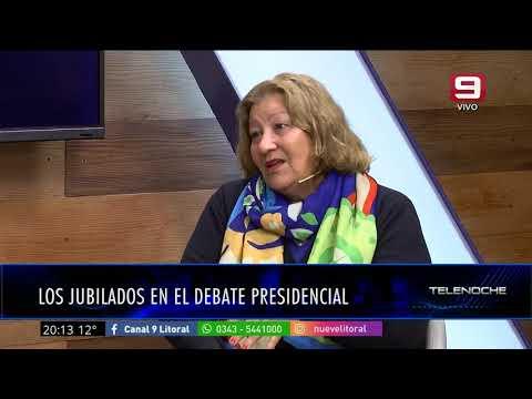La situación de los jubilados: entrevista a Juana Ávalos