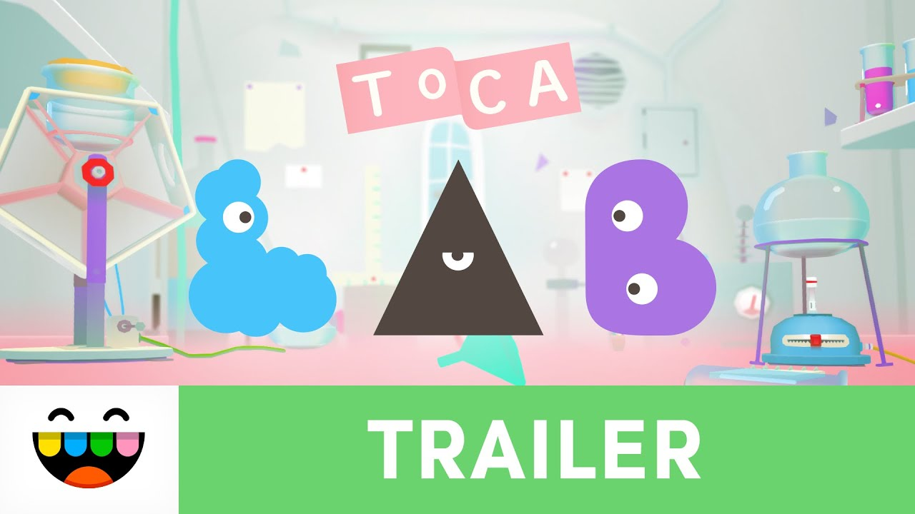 Explore Science In Toca Lab Elements Gameplay Trailer Tocaboca