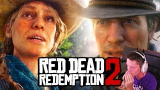 RED DEAD REDEMPTION 2 - THE PREQUEL - STORY TRAILER #2 [Reaction]