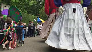 Les Géants de Maffle - Sortie au Centre de Vie de Jette ( 13 Mai 2017)