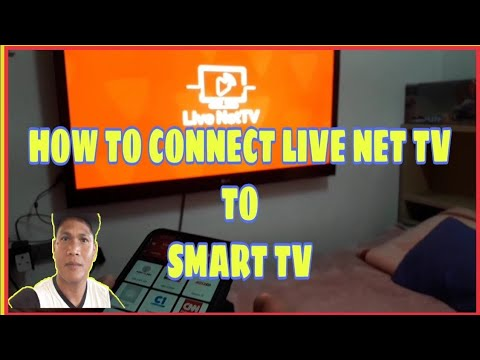 HOW TO CONNECT LIVENET TV APP. TO SMART TV