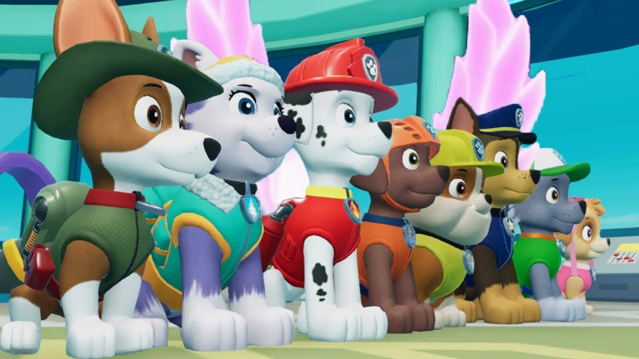 PAW Patrol On a Roll - All Mighty Pups Rescue Missions Adventure Bay - Fun Pet Kids Games