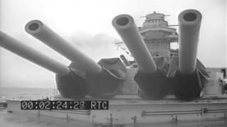 WW2 French Battleship Richelieu, Suez, Canal 1944 (full)