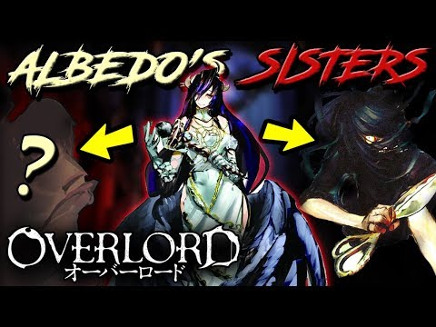 Who Are ALBEDO'S Sisters? | OVERLORD – Albedo's Sisters NIGREDO & RUBEDO Explained