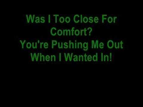 Too Close For Comfort  McFLY  Lyrics