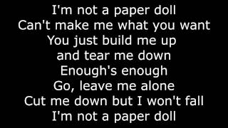 Bea Miller - Paper Doll (Lyrics Video) High Quality Audio