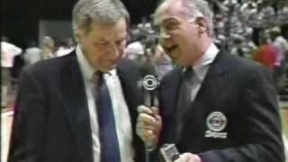 Rick Fox last second shot upsets #1 Oklahoma 1990 NCAAs