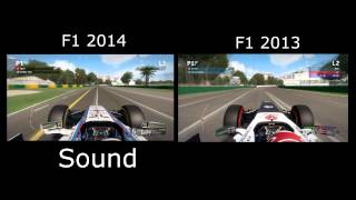 Williams F1 2014 vs F1 2013 | OnBoard HotLap Melbourne