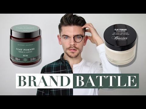 Baxter of California Clay vs. Daimon Barber Clay   Brand Battle