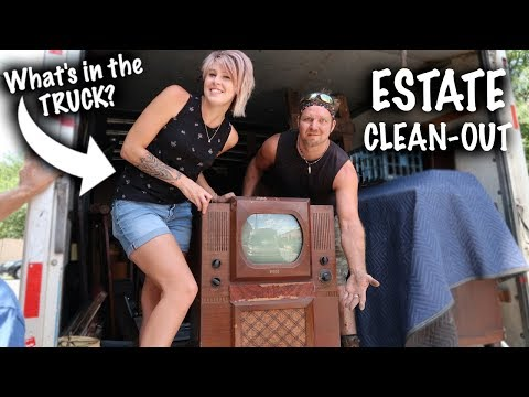 HUGE Estate Clean-Out! What's in the truck? | Thrift with Me | Reselling
