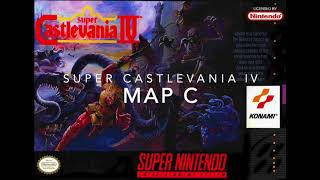 Super Castlevania IV - Map C